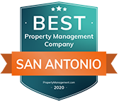 Best Property Management Company San Antonio 2020 Seal